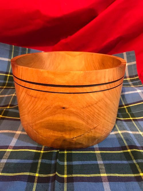 Manx Cherry Semi-Rustic Bowl