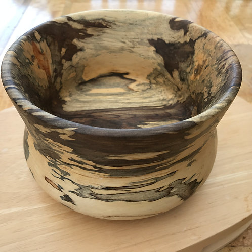 Manx Spalted Sycamore Bowl