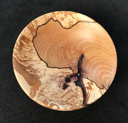 Manx Spalted Beech small Bowl