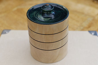 Manx Cherry Lidded Box