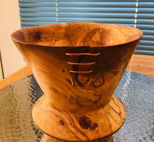 Bespoke Manx Spalted Beech Bowl