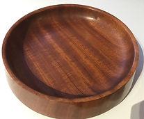 Sapele Centrepiece Bowl