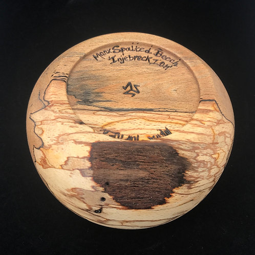 Manx Spalted Beech Semi-Rustic Bowl