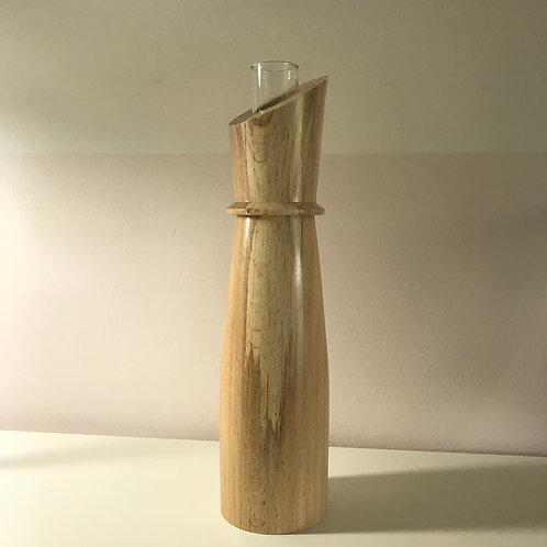 Coloured Beech Tall Vase
