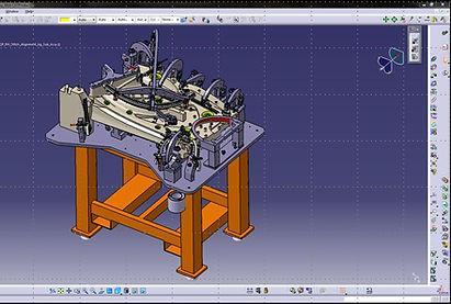 Catia V5 Design of automotive stitch alignment fixture