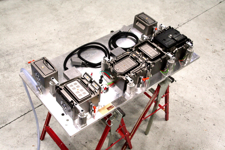 CNC FIXTURE FOR CAR INTERIOR PARTS