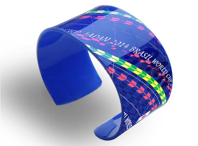 Japan football team acrylic bracelet