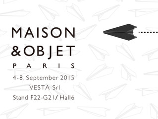 The multi stand I designed will be launched at MAISON & OBJET in Paris!