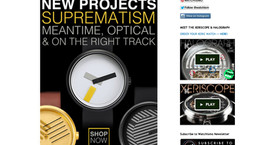 On the Right Track Watch was introduceted by the American watch site : Watchismo!