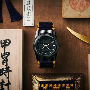 甲冑× 時計のコラボレーションを実現『甲冑時計 伊達政宗』応援購入サイトMakuake にて9 月5 日よりプロジェクト実施!
