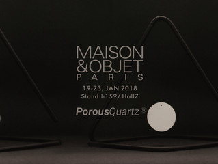 [ Announcement of my new project at Maison&objet in Paris.]