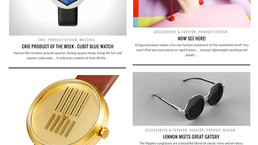 On the Right Track Watch was introduced by the Design web magazine  : Yanko Design!