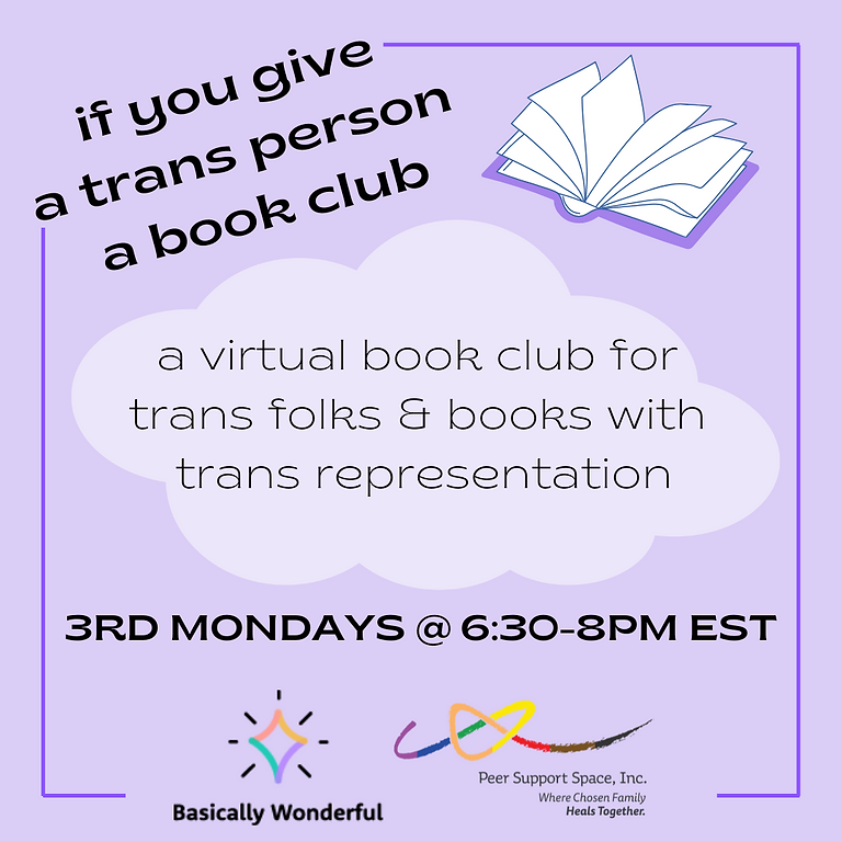 If You Give a Trans Person a Book Club