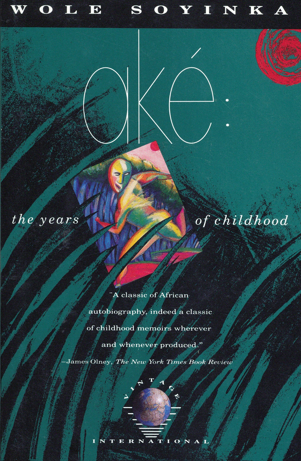 1981: Aké: The Years of Childhood by Wole Soyinka tells the story of Soyinka's boyhood before and during World War II in a Yoruba village in western Nigeria called Aké.