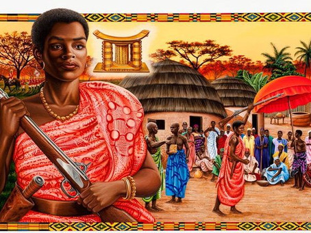Queen Mother Nana Yaa Asantewaa of the Ashante Empire, Ghana