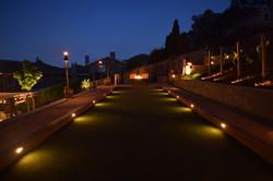 Artificial grass lights