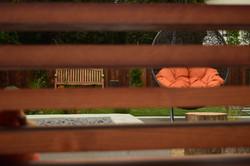 Wood Bench Back