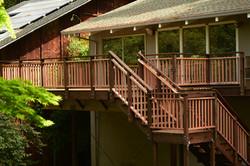 Redwood Guardrail