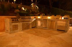 BBQ Island outdoor lights