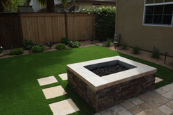 Fire pit / Stepping stones