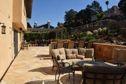 Mediterranean backyard design