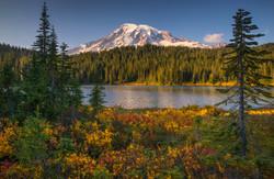 Autumn at Reflection Lake