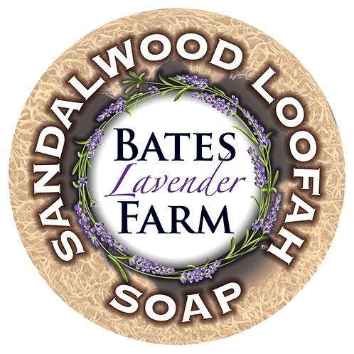 Sandalwood Loofah Soap