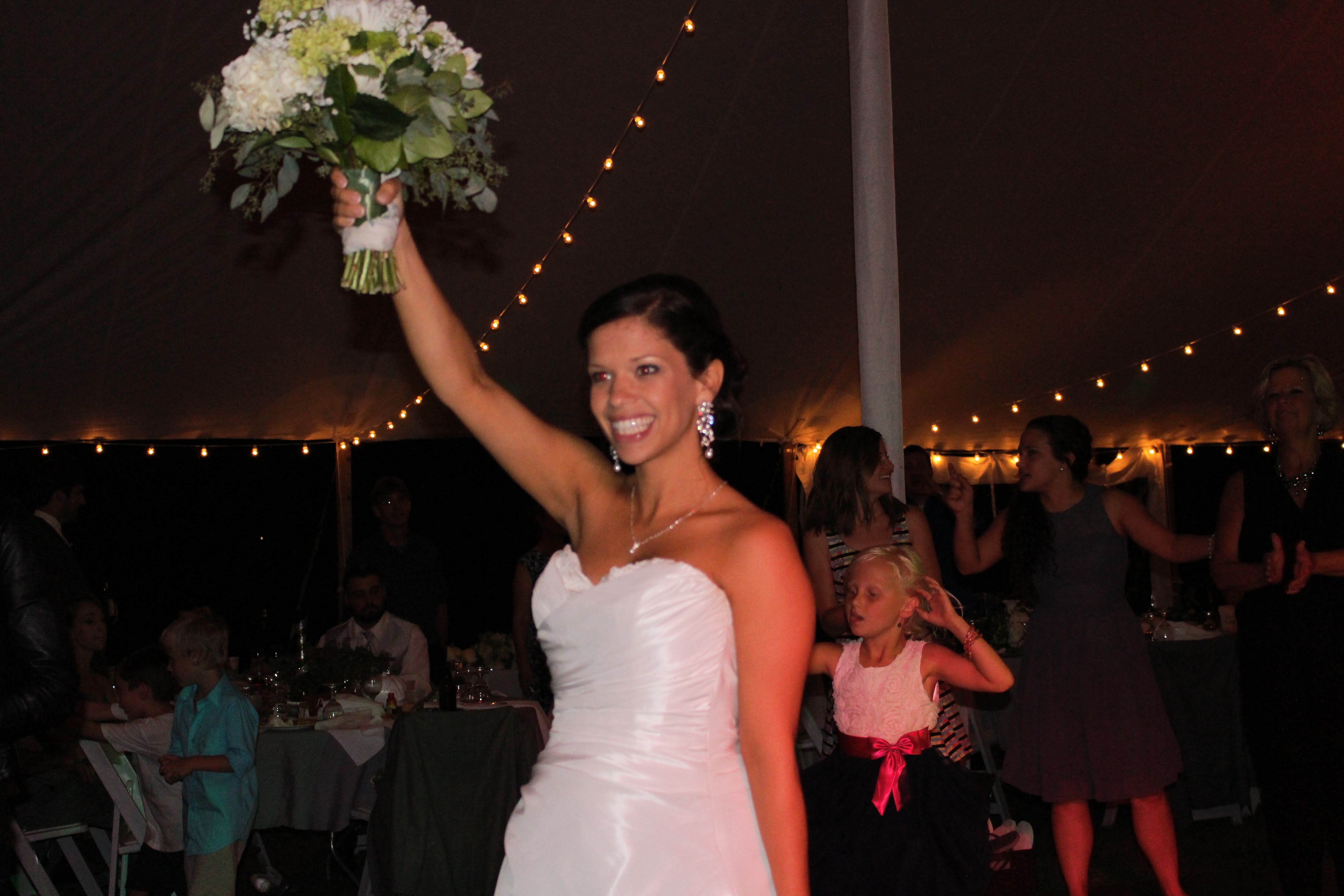 Higgins Wedding Bouquet  Toss