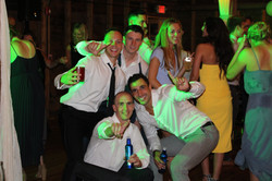 Groomsmen Partying on the Dancefloor