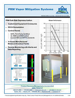 PRM Vapor Mitigation Systems