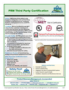 Third party Certified UL 508A and 698A Conrl Panels