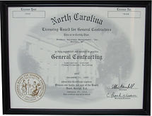 NC Geeral Contractor