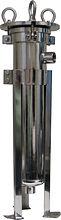 Stainless Steel 100 psi maximum working pressure filter housing