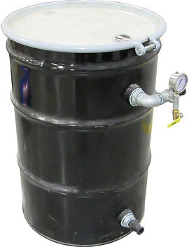 The LP Series Carbon units are used on remediation systems where higher flow volumes are expected with minimal discharge head.