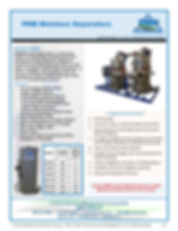 PRM manufactures high qualityMoisture Separators specifically for SVE and Dual Phase applications.