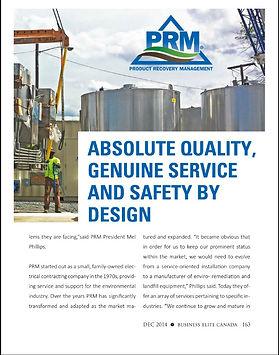 PRM Quality Genuine Service