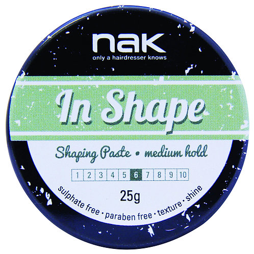 NAK In Shape Shaping Paste - Low Shine 25GM