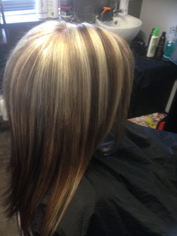 Chuncky Blonde Foils With Brunette