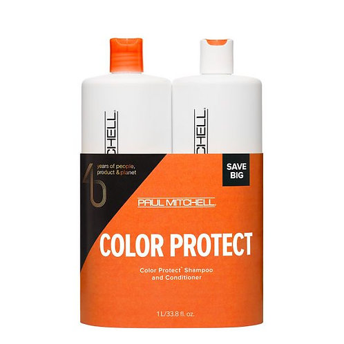 PAUL MITCHELL Colour Duo - Color Protect Shampoo and Conditioner 1LITER
