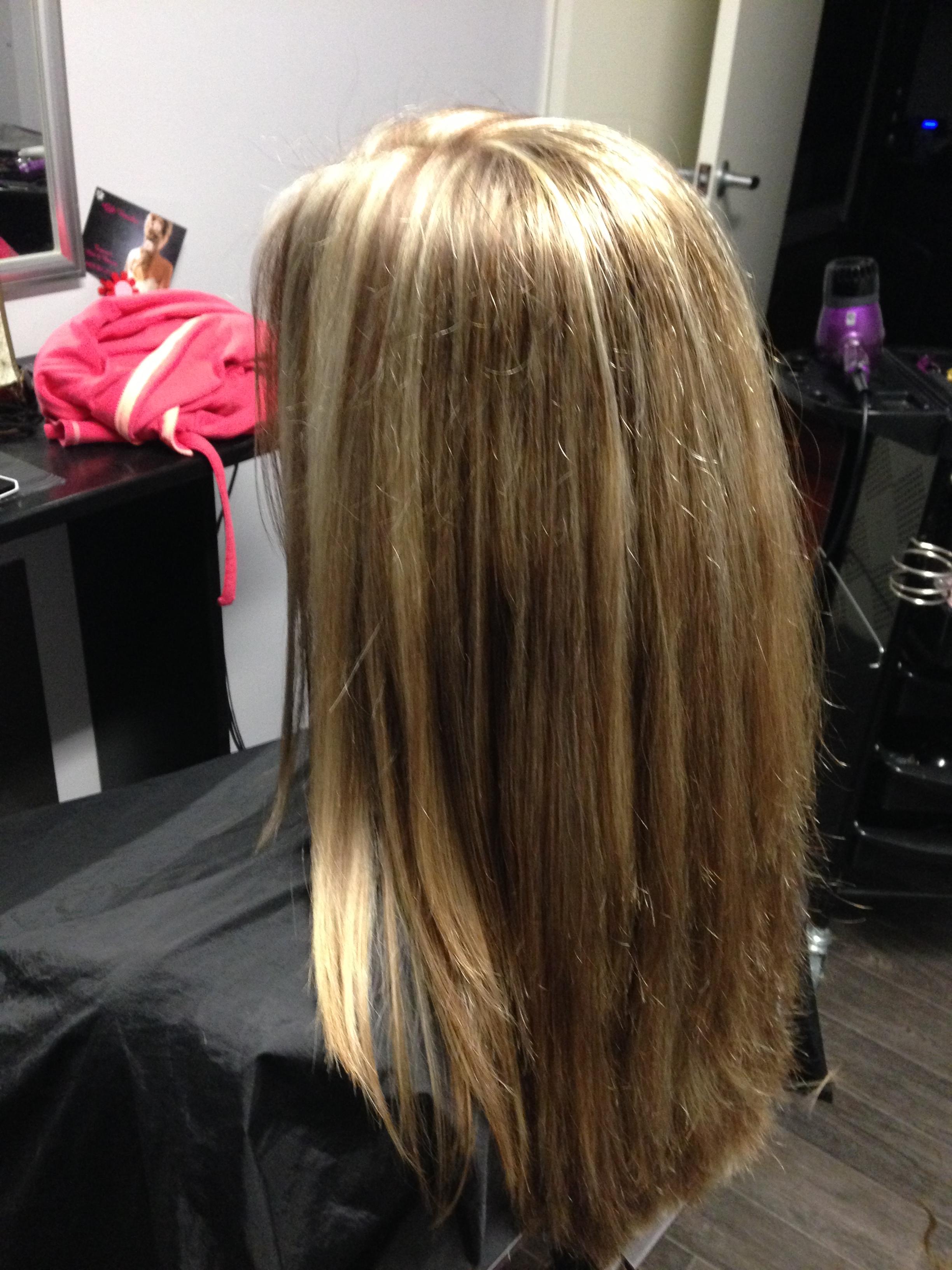 Blonde & Brunette Foils