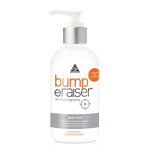 CARONLAB Bump eRaiser Zesty Antibacterial Wash 250ml