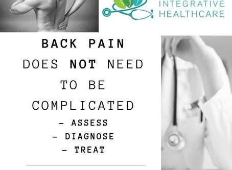 Back Pain - Assess, Diagnose, Treat