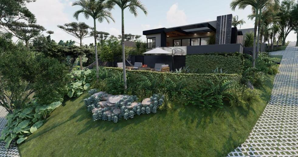Imagens 3D de projeto residencial em Itatiba-SP. 21/06/2021 - Imagem 2