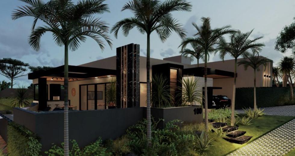 Imagens 3D de projeto residencial em Itatiba-SP. 21/06/2021 - Imagem 8
