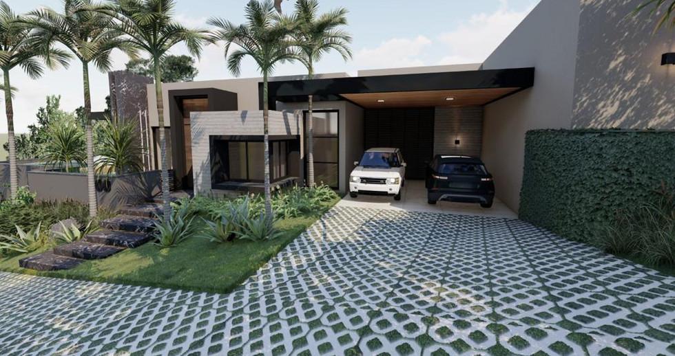 Imagens 3D de projeto residencial em Itatiba-SP. 21/06/2021 - Imagem 5