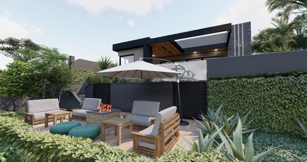 Imagens 3D de projeto residencial em Itatiba-SP. 21/06/2021 - Imagem 7