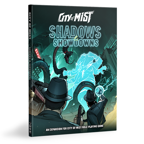 City of Mist RPG - Shadows & Showdowns - Expansion