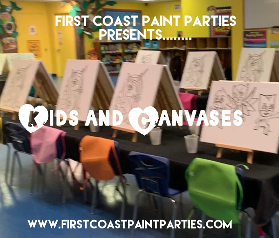 Kids and Canvases