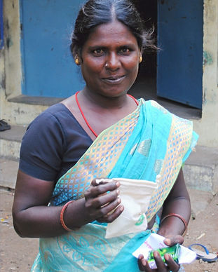 woman, women empowerment, rural, india, NGO, freedom cups