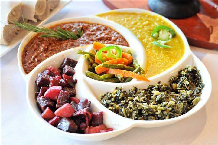 ethiopian food plate